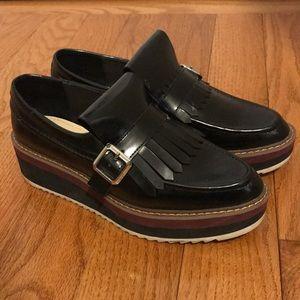 Zara Fringe Platform Shoes